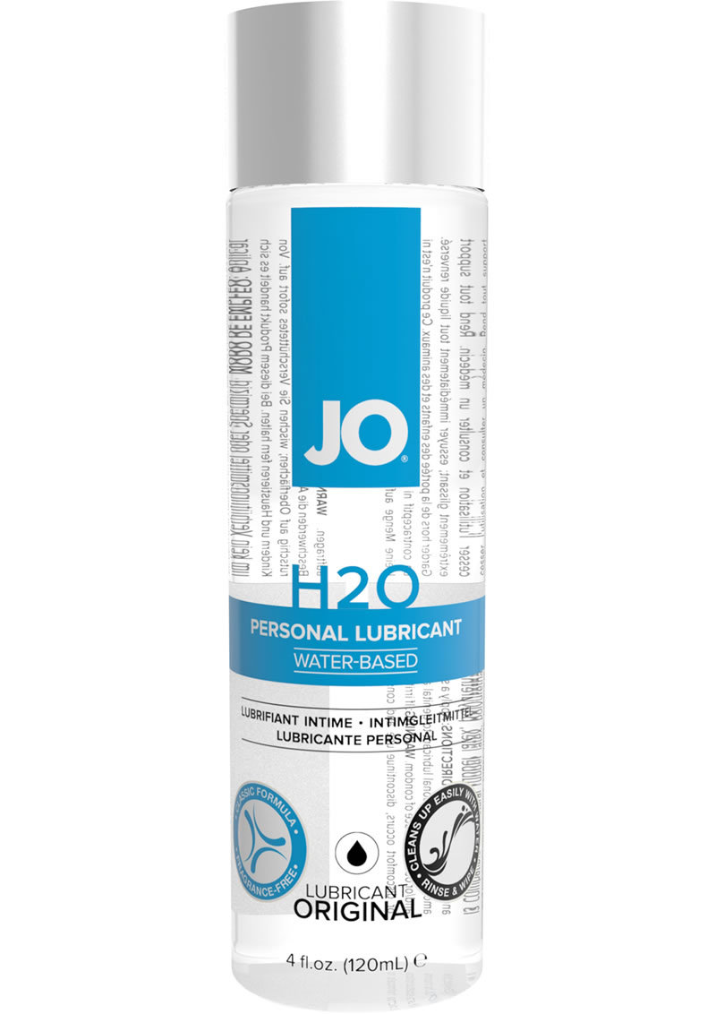 Jo H2o Original Water Based Lubricant 4oz